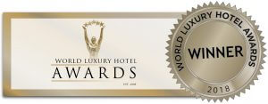 world luxury hotel awards 2018 award stamp